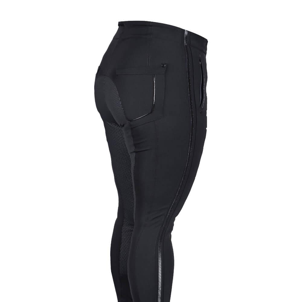 EUROSTAR Damen-Vollbesatzreithose ES-Wosha FullGrip in black