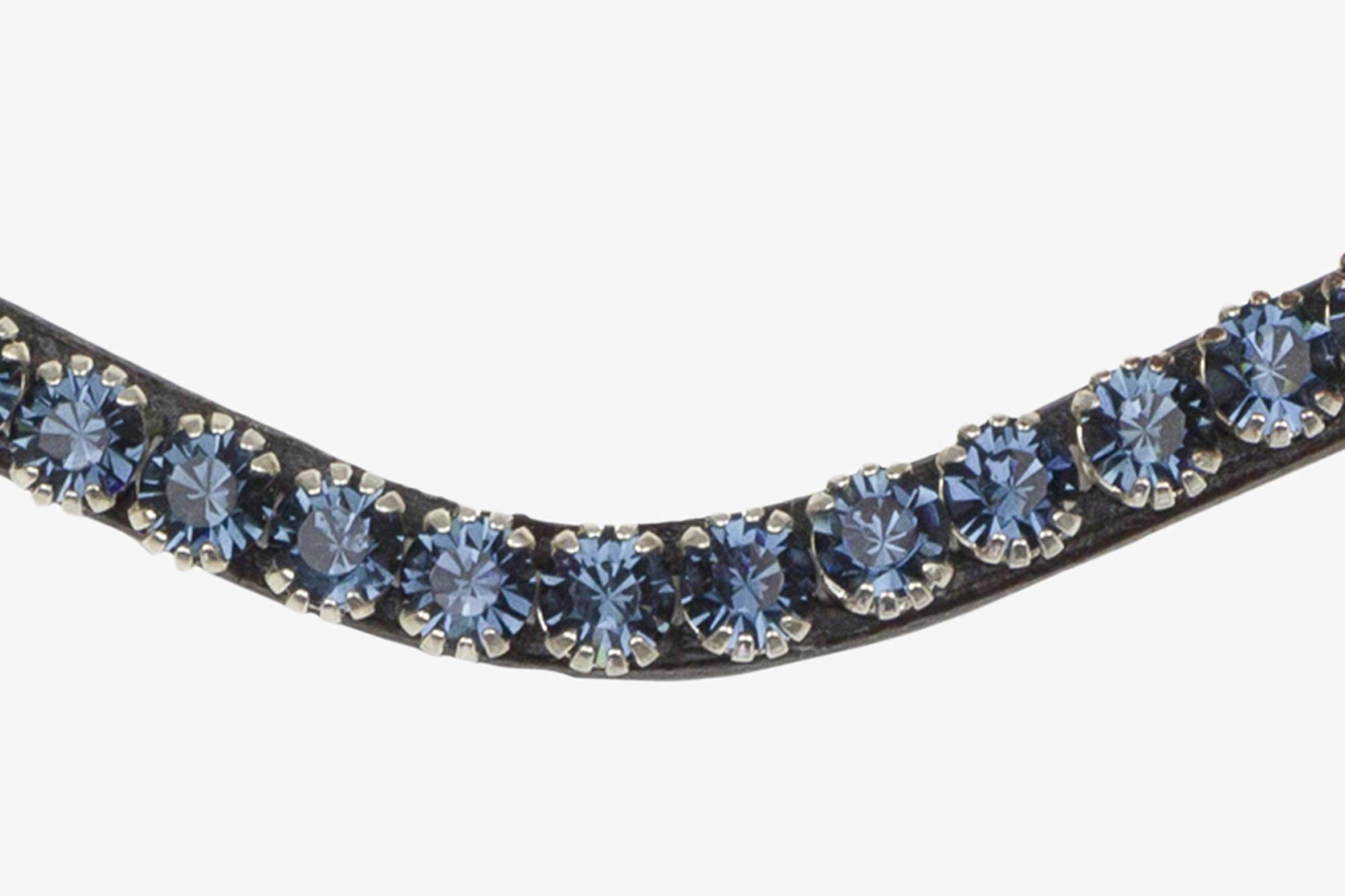 PS of Sweden Stirnband sleek deep sapphire - black