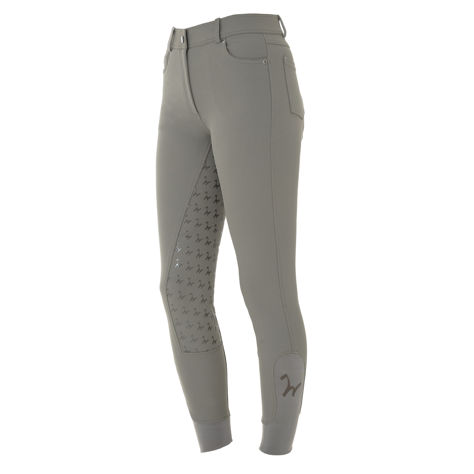 Damen Reithose Isabell Full Grip taupe