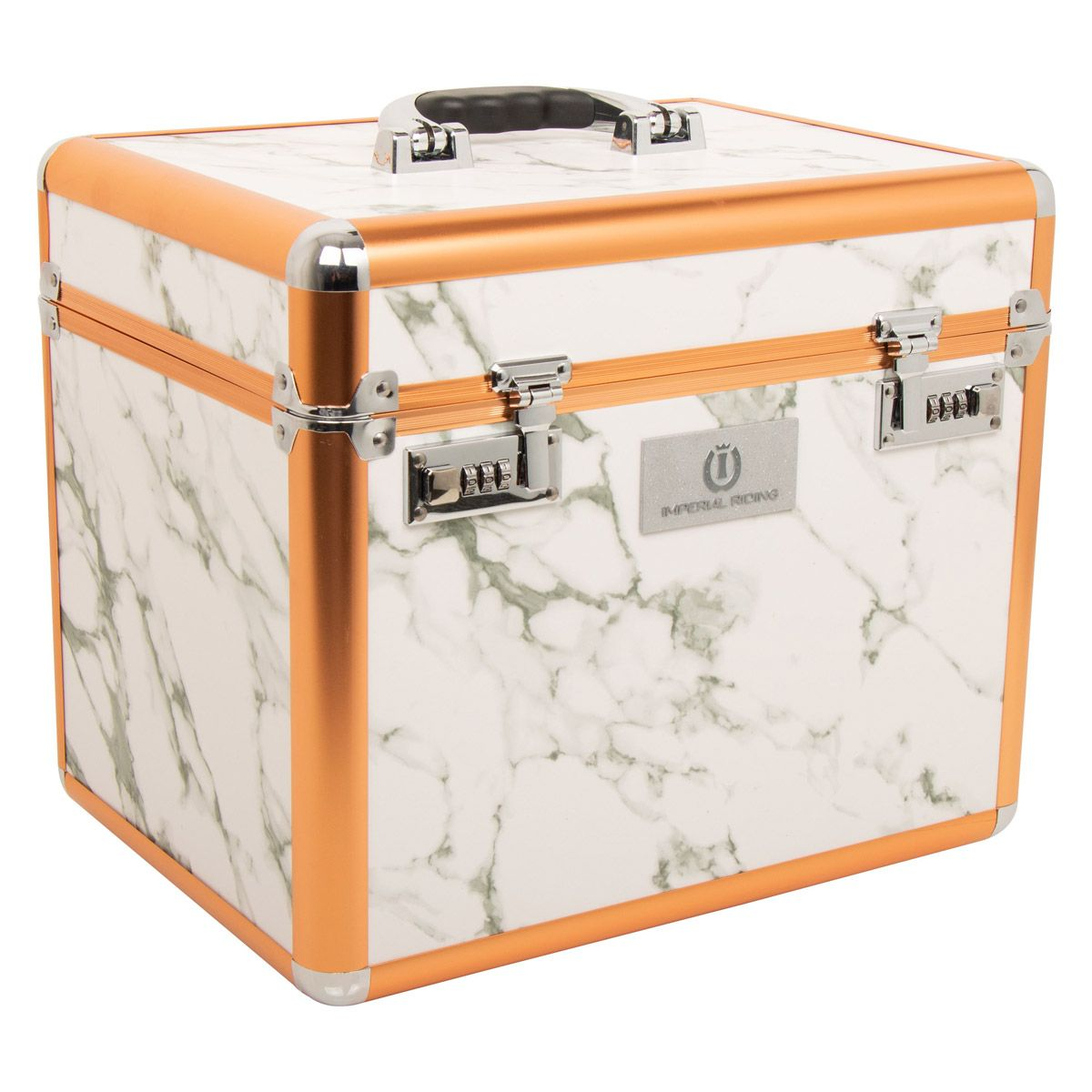 Imperial Riding Putzbox SHINY in white-marble/rosegold