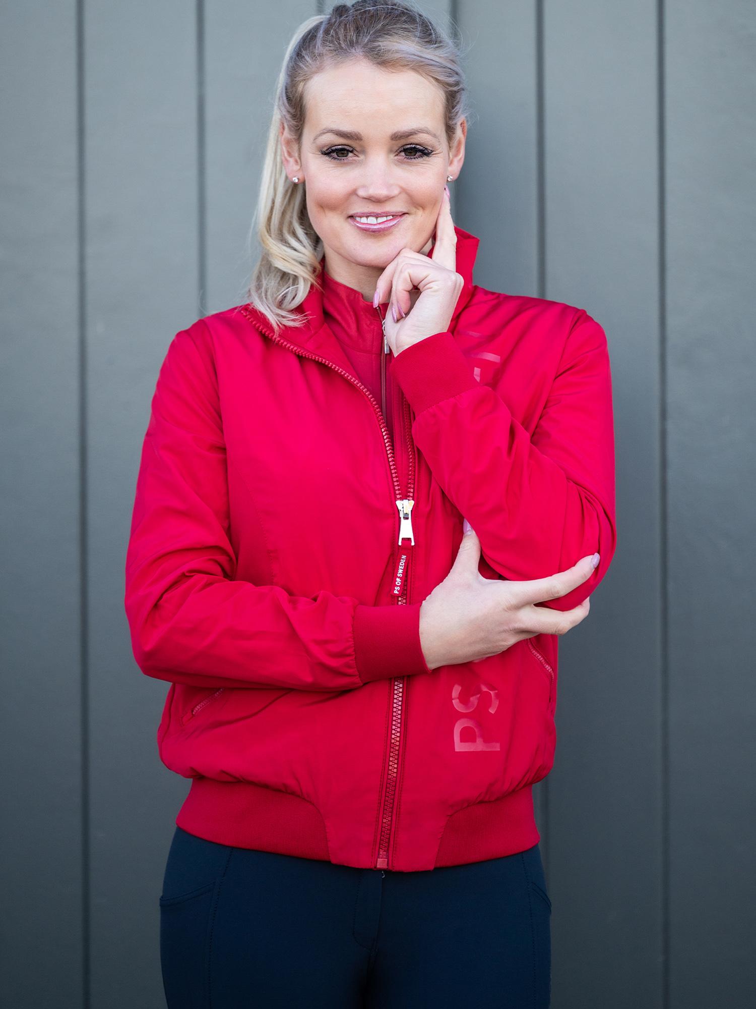 PS of Sweden Reitjacke Wera in red