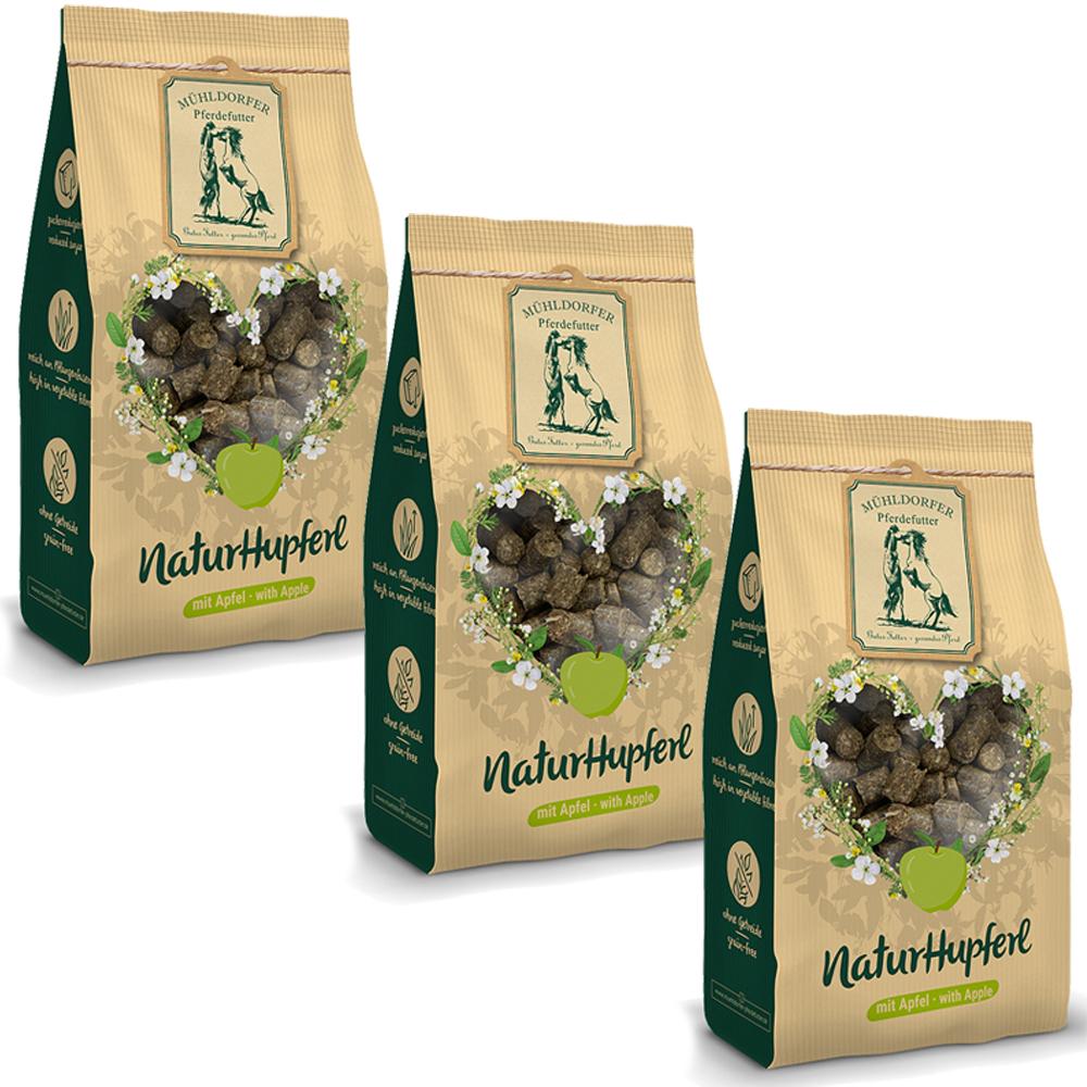 Mühldorfer NaturHupferl Apfel - 3 Tüten
