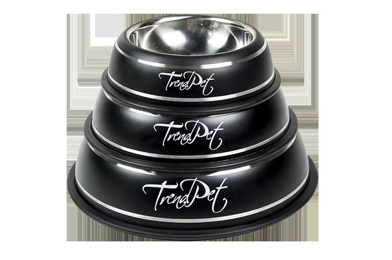 TrendPet Fashion Bowl in Black