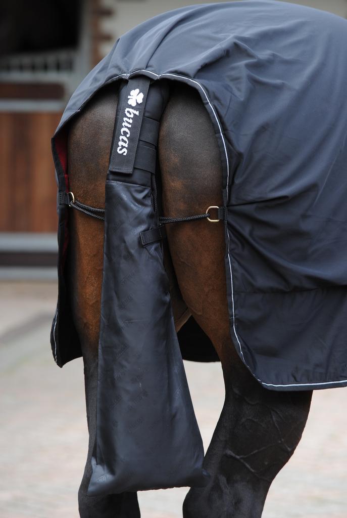 Bucas Tail Protector Schweifschoner in Schwarz