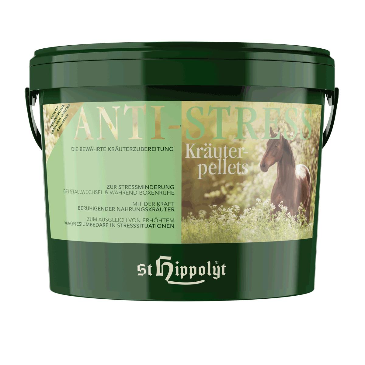 St. Hippolyt Anti-Stress-Kräuterpellets 3kg