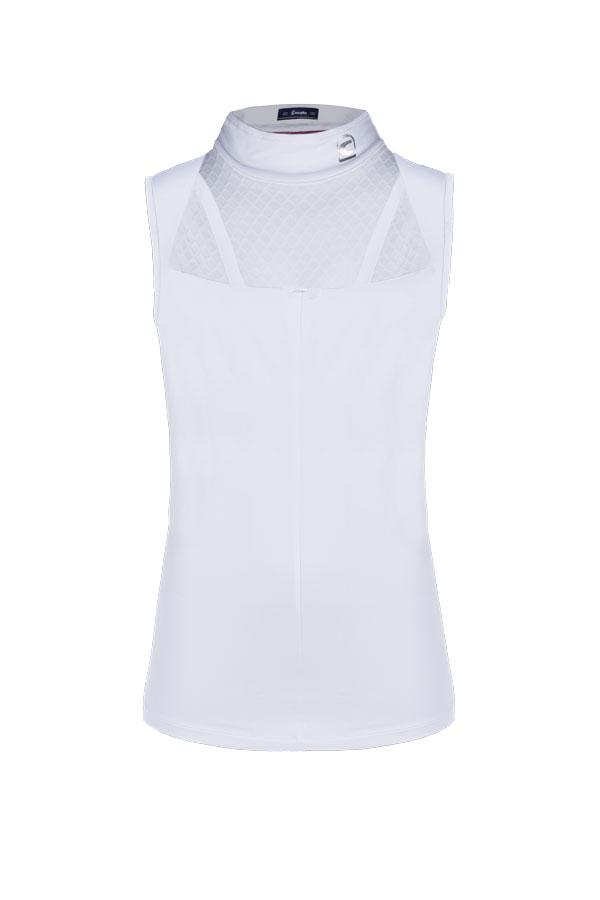Cavallo Turniershirt Papina in white Frühjahr/Sommer 2021