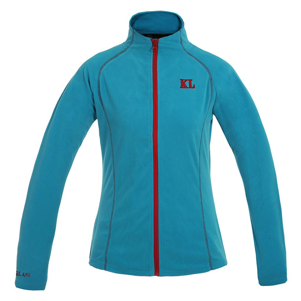 Kingsland Fleece Shirt Ballentine blue Methyl in Größe XXXS