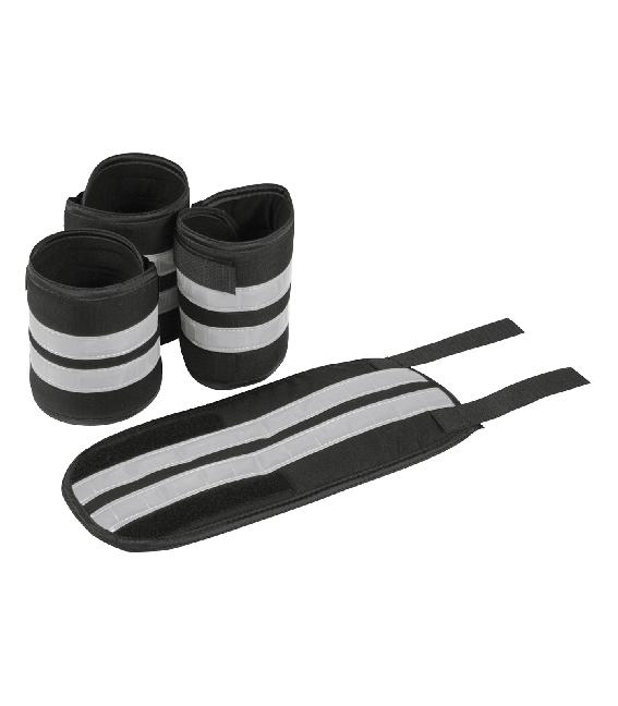 REFLEX Bandage, Set in schwarz/silber