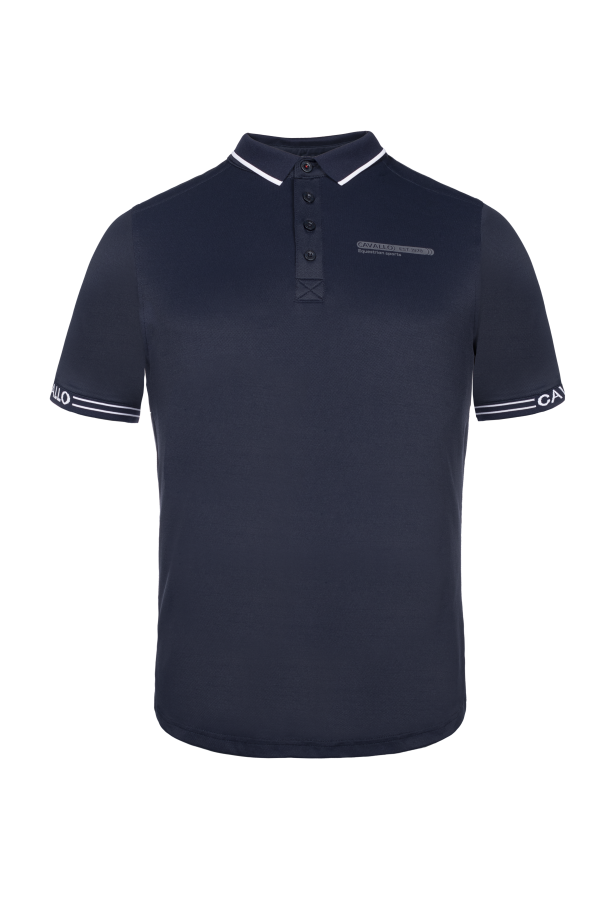 Cavallo Herren Poloshirt Spike in darkblue Frühjahr/Sommer 2021