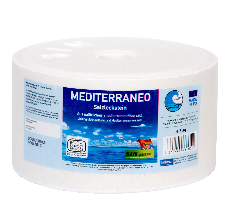 MEDITERRANEO Salzleckstein, 3kg