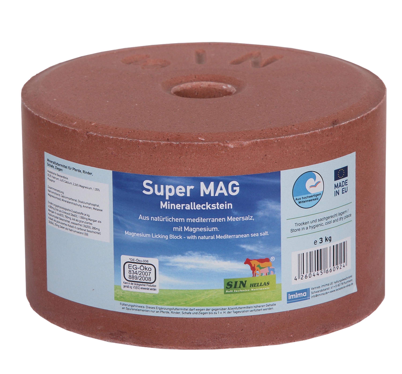 SuperMAG Mineralleckstein, 3kg