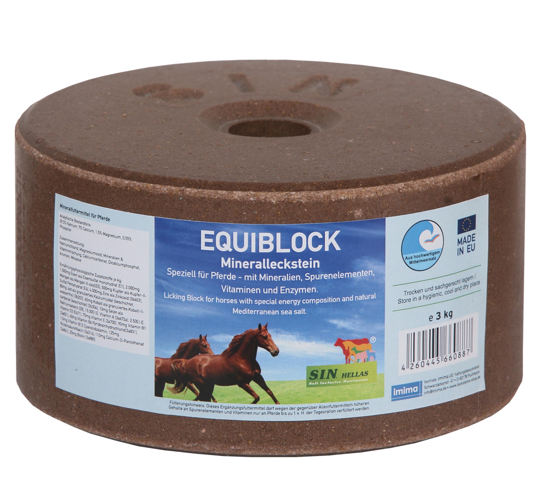 EQUIBLOCK Mineralleckstein, 3kg
