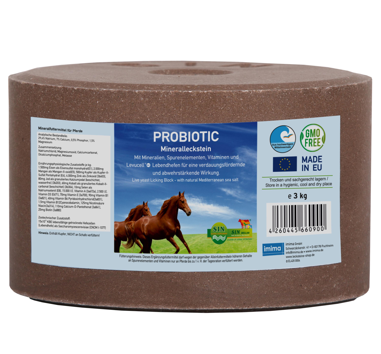 PROBIOTIC Mineralleckstein, 3kg