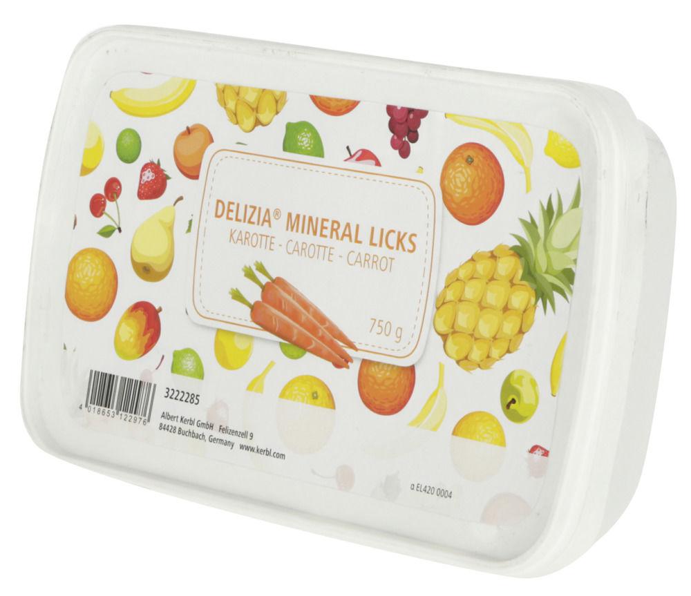 Delizia Mineral Licks Karotte 750g