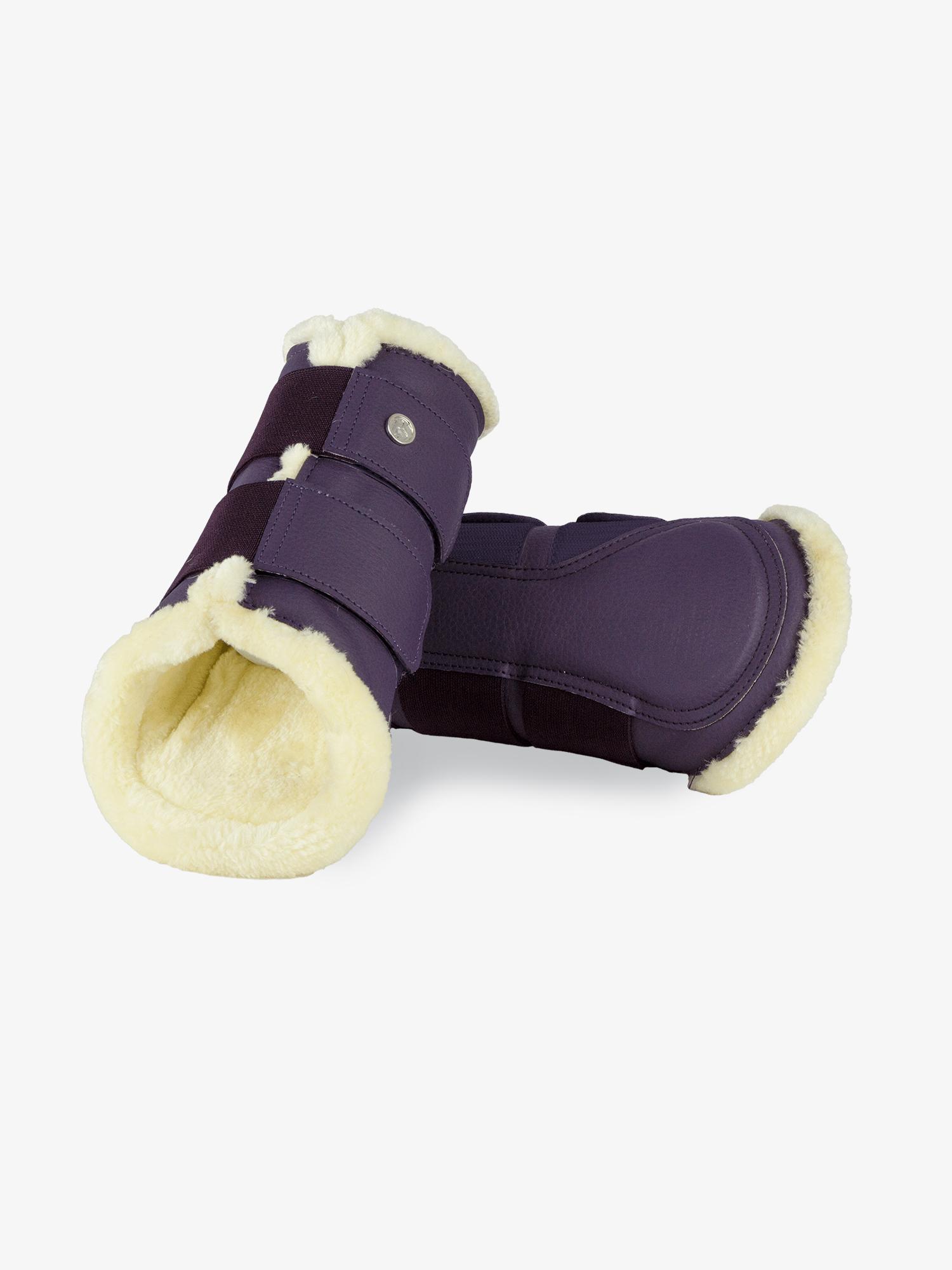 PS of Sweden 4er Set Gamaschen, Brushing Boots in Plum