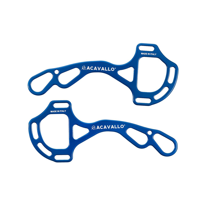 Acavallo AluPro Hackamore - Farbe blau - one Size - AC799