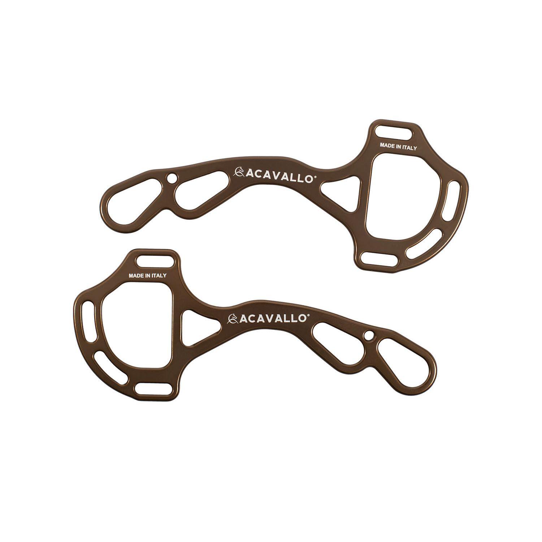 Acavallo AluPro Hackamore - Farbe bronze - one Size - AC799