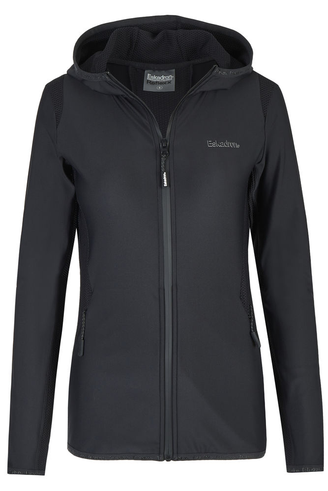 ESKADRON REFLEXX - Jersey Shirt Zip Hood