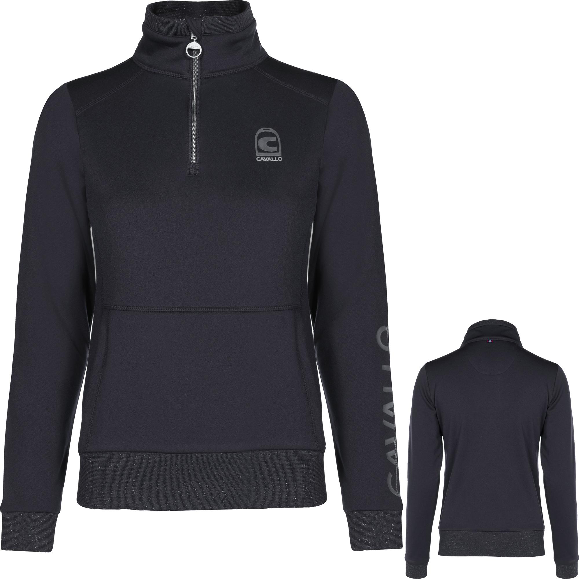 Cavallo Damen Sweatshirt Bela in black