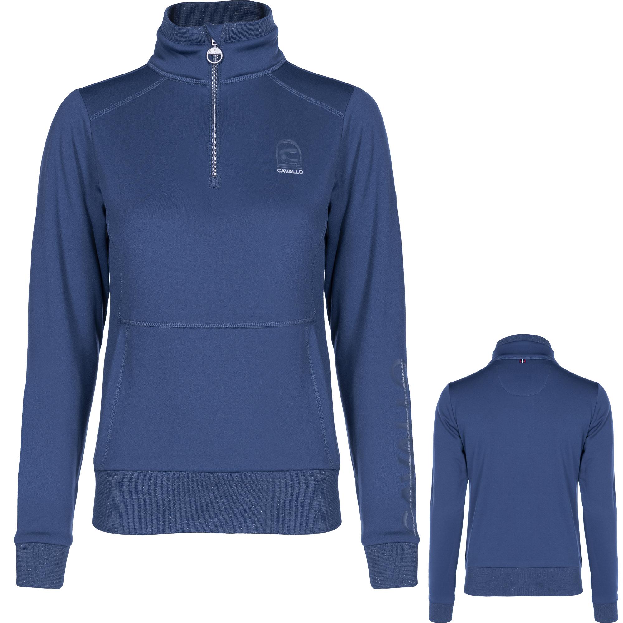 Cavallo Damen Sweatshirt Bela in dust blue