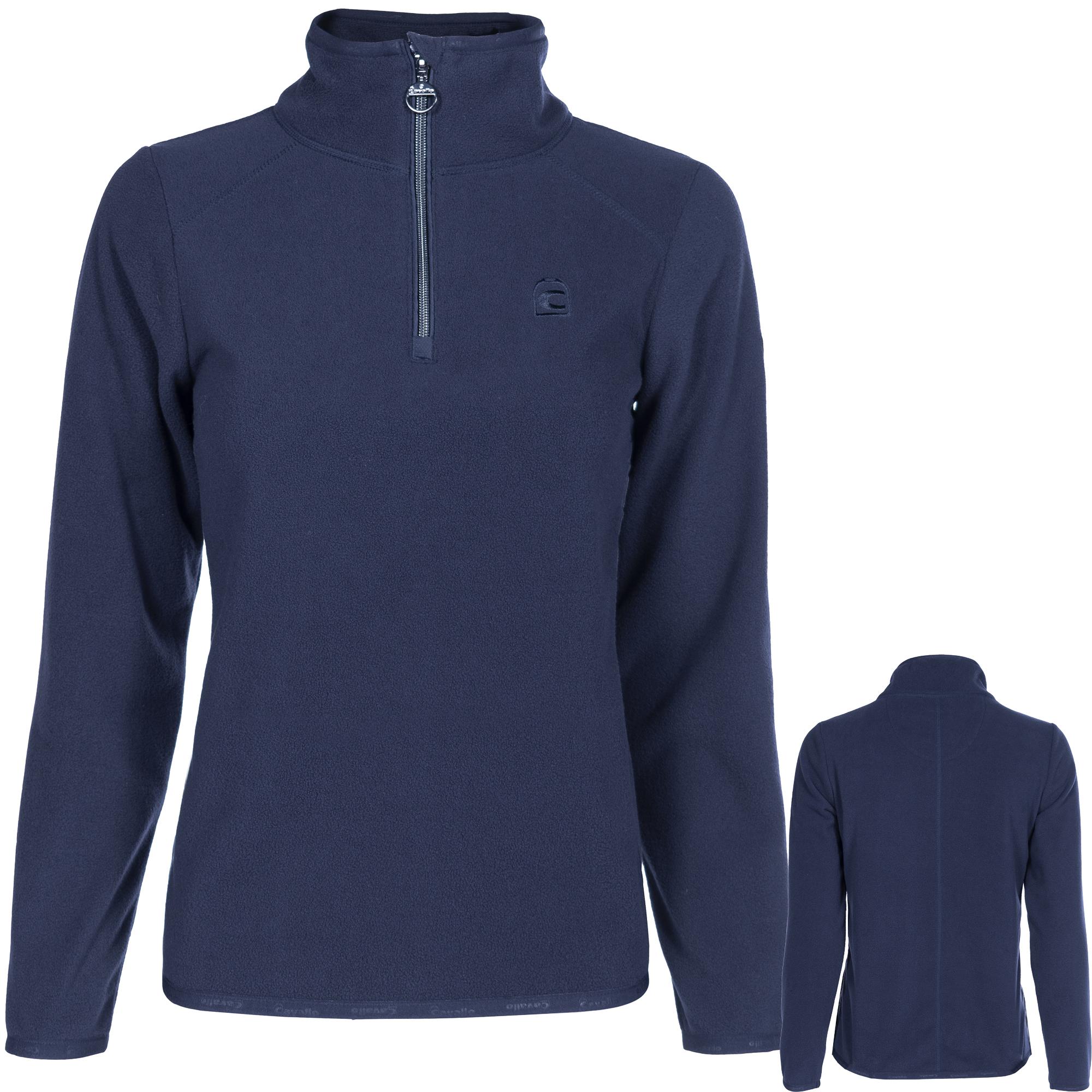 Cavallo Damen Fleece-Shirt Bela in darkblue