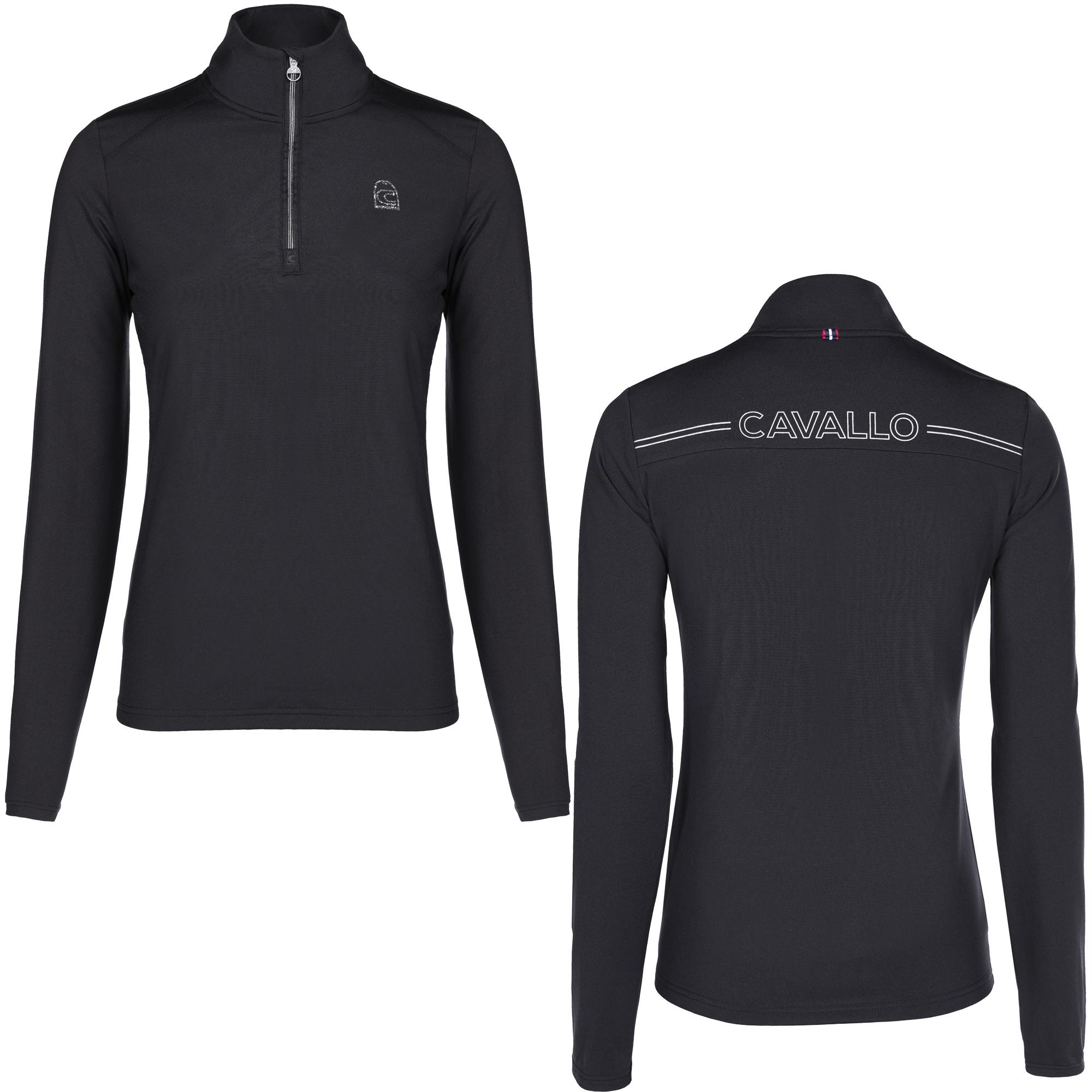 Cavallo Damen Funktions -Shirt BAIKY in black
