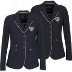 EQUILINE Damen Turnierjacket Billy in black & navy - NEU 001