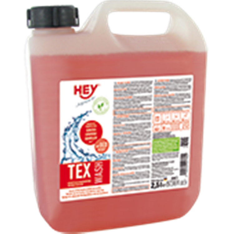 Hey Sport - tex wash - 2,5 Liter Kanister