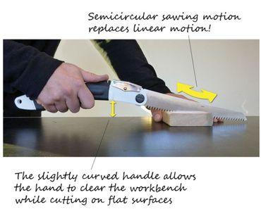 Silky Ultra Accel Taiko 240mm Klappsäge mit nach oben gewölbter Klinge – Bild 2