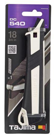 TAJIMA DORA 18mm Cuttermesser DC540 mit Taste und verlängertem Griff, TAJ-11913