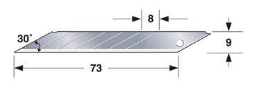 TAJIMA Ersatzklinge ENDURA 9mm 30° – 10 Stück, TAJ-18984 – Bild 2