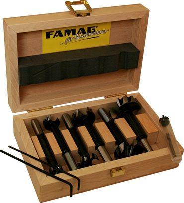 FAMAG Bormax 2.0 prima Staketenbohrersatz 5-teilig WS D=15,20,25,30,35mm – Bild 1