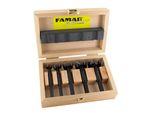 FAMAG Bormax 2.0 WS-Forstnerbohrersatz 5-teilig D=15,20,25,30,35mm  001