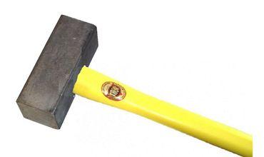 THOR Blei Hammer, Vierkant 60 x 158 mm, 6.400 g, mit Fiberglas Stiel