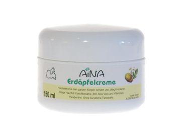 AINA Erdäpfelcreme 150 ml Dose - reichhaltige Creme mit Erdäpfelstärke – Bild 1
