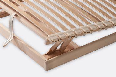 Lattenrost Komfort, metallfrei, 90x190cm – Bild 3