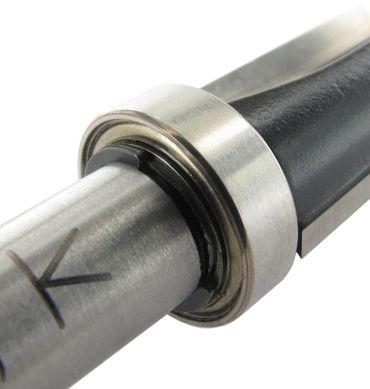 ENT Bündigfräser HW S8x32 Z2 D16x25 mm GL62 mm mit Kugellager am Schaft  – Bild 4