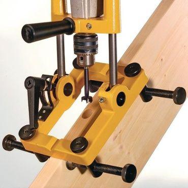 Famag Treppenbau-Sets WS Treppenbaubohrständer mit Spannvorrichtung und 1622.507 – Bild 1