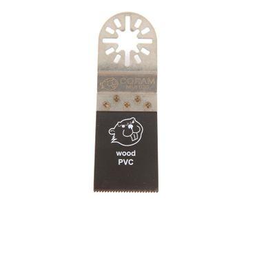 10x oszillierendes Coram-Sägeblatt 35mm mit Multifunktionsaufnahme