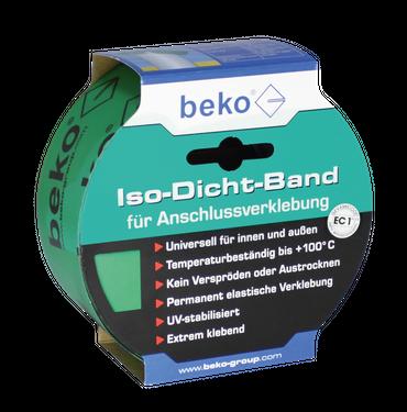 Beko Iso-Dicht-Band 60 mm x 25 m GRÜN, für Anschlußverklebung – Bild 1