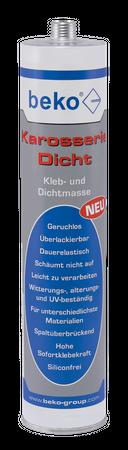 Beko Karosserie-Dicht 310 ml WEISS Kleb-/Dichtmasse – Bild 1
