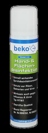 Beko CareLine Hand- & Flächendesinfektion 75 ml – Bild 1