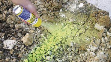 TecLine Markierspray 500 ml LEUCHTBLAU – Bild 3