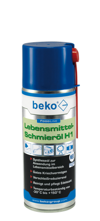 Beko FoodLine Lebensmittel-Schmieröl H1 400 ml – Bild 1