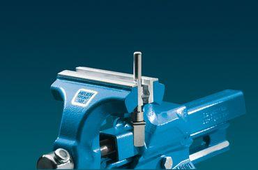 HEUER Magnet-Schutzbacke Typ P Schraubstock 135 mm Aluminium mit Prismen – Bild 3