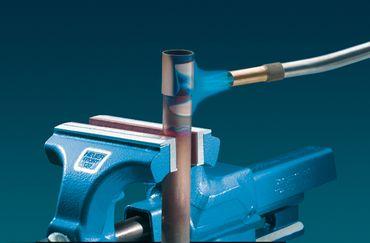 HEUER Magnet-Schutzbacke Typ F für Schraubstock 120 mm, Aluminium-Fiberbelag – Bild 3