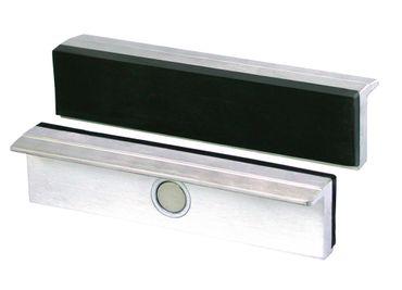 HEUER Magnet-Schutzbacke Typ G für Schraubstock 135 mm, Alu-Gummibelag – Bild 1