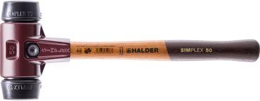 SIMPLEX-Vorschlaghammer mit Stahlgussgehäuse und Hickorystiel Ø=80 mm