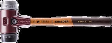 SIMPLEX-Vorschlaghammer, mit Stahlgussgehäuse Hickorystiel Ø=80 mm