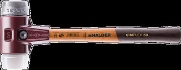 SIMPLEX-Schonhämmer, mit Stahlgussgehäuse und hochwertigen Holzstiel   Ø=50 mm   3079.050